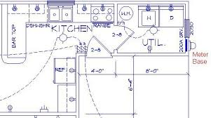 sample kitchen electrical plan parra electric inc electrical sample kitchen electrical plan parra electric inc electrical plans electric kitchens and electrical plan