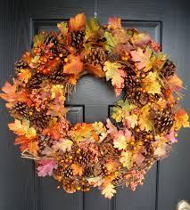Fall Wreath Crafty Sisters Plump Fall Wreath