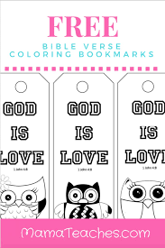 5 verses to pray over your children {plus free bookmark}. Free Printable God Is Love Coloring Bookmarks For Kids Mama Teaches