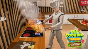 real cooking game 3d virtual kitchen chef android gameplay trailer