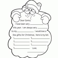 Printable Kids 20 Free Printable Letters To Santa Templates Spaceships And Laser