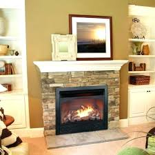 unvented gas fireplace vent free propane natural logs mountain smell
