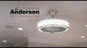 enclosed ceiling fan. Introducing The Anderson Enclosed Fan Ceiling