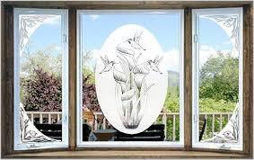 corner shower doors glass etched glass decals vinyl etchings vinyl etched glass