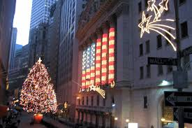 nyc financial district nyse lights by wallyg