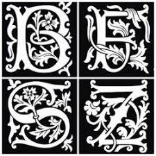 šablony Pro Henna Tetování 26 Písmen