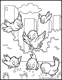 Small Picture Coloring Pages Animals Plants My Activity Maker