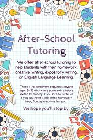 How To Write Flyers School Tutoring Advertisement Flyer Template Postermywall