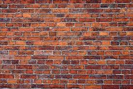 an old brick wall background stock