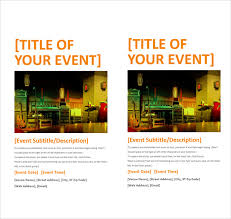 Flyer Templates Microsoft Word 12 Microsoft Flyer Templates Download Free Documents In