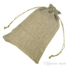 2019 jute gift bags jewelry drawstring pouch rustic natural burlap with hemp cords for wedding party 13x18cm 15x20cm from szycd 0 33 dhgate
