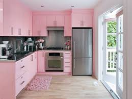 Light Pink Kitchen Interior Lovely Pink Interior Paint Color In Kitchen Deisgn