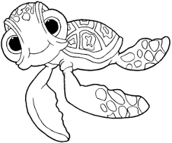 Small Picture How to draw Squirt the Turtle from Finding Nemo with easy step by