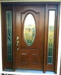 front door stained glass inserts ned glass inserts for exterior doors front door entry with outstanding replacement home exterior colors green