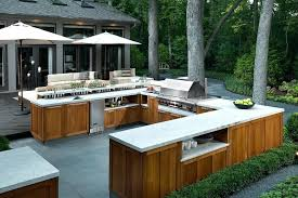 outdoor kitchen designs functionl thnk bout lrge spce with bar smoker design measurements outdoor kitchen designs