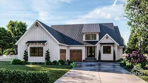 1 story modern farmhouse house plan