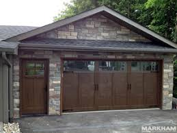 haas doors american tradition steel insulated custom stained