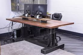 industrial furniture table. Post Industrial Desk Furniture Table D