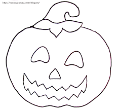 Dessin A Colorier Citrouille Halloween L L