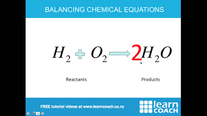 ncea science level 1 chemistry word and chemical equations