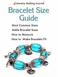 Bracelet Size Chart Men Bracelet Sizes Guide Jewelry Making Journal