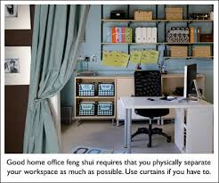 feng shui home office do s