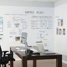 whiteboard for office wall. Magnetic Board / Erasable Wall-mounted Large-format - WHITEWALLS\u2014 Whiteboard Panels Whiteboard For Office Wall F