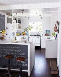 Small Chalkboard For Kitchen Kitchen Bar Design Ideas With Chalkboard And Small Round Stools