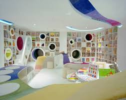 Home Design Modern Contemporary Kids Play Room And Study Room ...