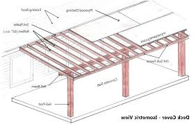 patio cover plans free standing. Plain Cover How To Build A Freestanding Patio Cover Free Plans Modern  Outdoor On Standing O