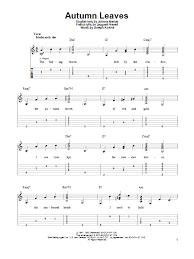 Guitar Tab Chart Pdf Autumn Leaves Solo Guitar Pdf Download Bropocwc Over Blog Com