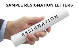 Job Resignation Letter Template Easy To Use Free Resignation Letters