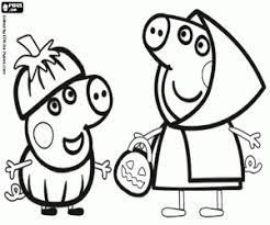 peppa pig george hallowee_579b1978254c9 p peppa pig coloring pages printable games on coloring book pig