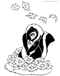 Small Picture Flower from Bambi bambi color page disney coloring pages color