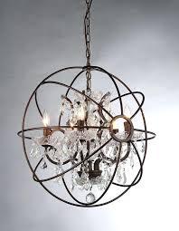 metal sphere chandelier best lighting images on french chandelier design metal sphere metal sphere crystal chandelier