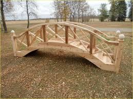 backyard bridges garden bridge design
