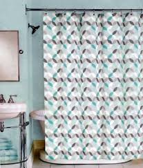 grey and coral shower curtain. peri harmony fabric shower curtain teal \u0026 white geometric on grey 72 x in and coral