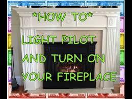 pilot light how to light a fireplace natural gas propane