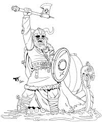 Viking Coloring Page Thegraduateinfo