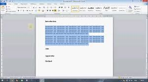 Microsoft Word Tutorial: Creating A Professional-Looking Technical ...