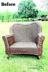 image of chairs white resin wicker patio furniture faux outdoor plastic repair modern