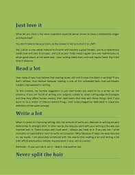 how to improve writing skills these old and frequently ignored t  2