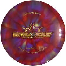 Custom Design Disc Golf Discs Dynamic Discs Lucid Breakout Custom Dye Disc Golf Disc
