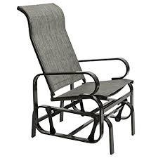 outdoor glider rocker. Marble Field Patio Sling Rocker Chair, Outdoor Glider Rocking Lounge All Weatherproof, B