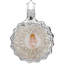 Weihnachtskugel Mit Jesuskind 75cm Inge Glas Nostalgischer Weihnachtsschmuck