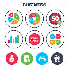 Pie Chart Games Business Pie Chart Growth Graph Gamer Icons Board Games Players