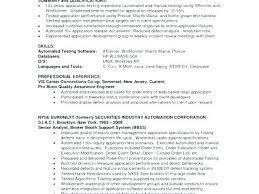 Database Analyst Job Description Quality Assurance Resume Example Quality Control Analyst Job