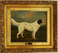 paintings for antique dog portraits oil paintings paintingsperfect com