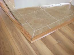 image of laminate to tile transition