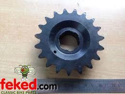 engine transmission chain sprockets sprocket front norton 16h es2 gearbox sprocket 19t 520